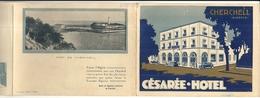 CESAREE HOTEL . CHERCHEL . ALGERIE . DEPLIANT - Reclame