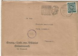 ALEMANIA OCUPACION CC BAYREUTH RICHARD WAGNER MUSICA OPERA ARTE - Música