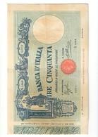 50 LIRE Barbetti Matrice Fascio 15 04 1935 Naturale Bel Bb+ LOTTO 1729 - [ 1] …-1946 : Regno