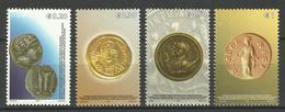 KOSOVO 2006 ANCIENT COINS SET MNH - Kosovo