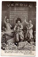 VERDUN * CASTELNAU * RAYMOND POINCARE * RESISTANCE * POILUS * DRIANT * PETAIN * NIVELLE * MANGIN * BALFOURNIER - War 1914-18