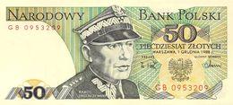 5 Zloty Polen UNC 1988 - Poland