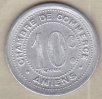 80. Somme. Amiens. Chambre De Commerce. 10 Centimes 1922 , En Aluminium - Monétaires / De Nécessité