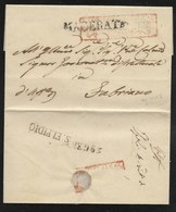 DA SANT' ELPIDIO A FABRIANO - 15.1.1850. - Italia
