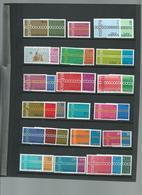 EUROPA. Lot / Vrac Majorité Neufs ** Divers Pays Sur 14 Pages. - Collections (sans Albums)
