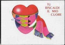 CARTOLINA D'AMORE - SCRITTA AL RETRO - Cartoline