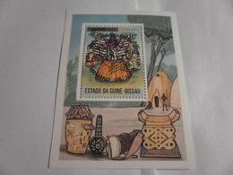 Miniature Sheet Perf Musical Instruments 1974 - Guinea-Bissau