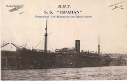 MESSAGERIES MARITIMES PAQUEBOT  ISPAHAN    H.M.T - Steamers
