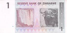 One Dollar Zimbawe 2007 UNC - Billetes