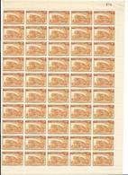 Belgisch Congo Nrs 240 En 259 In Vel Van 50 Zegels Postfris - 1923-44: Neufs