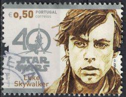 Portugal 2017 Oblitéré Used Star Wars Luke Skywalker SU - 1910 - ... Repubblica