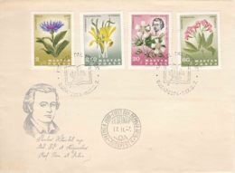 Hungary 1967 Flowers Nice FDC - Hungary