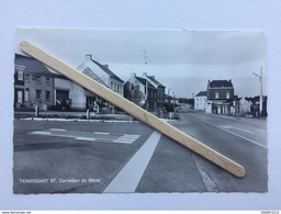 GENAPPE - TANGISSART Bt «CARREFOUR DU MARAI «Panorama,Station Service B.P(photo Véritable Nº 23452 )Maison Michaux . - Genappe