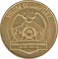 63 SAINT OURS LES ROCHES VOLCAN EXPRESS DE LEMPTÉGY MÉDAILLE MONNAIE DE PARIS 2019 JETON TOKEN MEDAL COIN - 2019