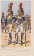 Uniformes Du 1er Empire  Officier Des 7 Et 10 Eme Régiments 1807-09 ( Tirage 400 Ex ) - Uniformen