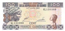 100 Cent Francs Guines 1960 UNC - Guinea