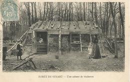Ac10/      91     Sénart    Une Cabane De Bucheron En Foret    (animations) - Sénart