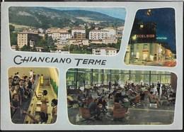 TOSCANA - CHIANCIANO TERME - VIAGGIATA 1967 FRANCOBOLLO ASPORTATO - Italia