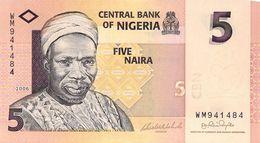 5 Naira Nigeria 2006 UNC - Nigeria