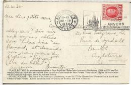 BELGICA ANTWERPEN 1930 ANVERS EXPOSICION INTERNACIONAL - 1929-1941 Gran Montenez