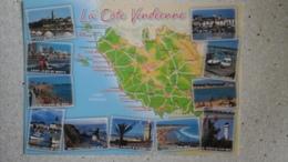 85-VENDEE-Carte Géographique-neuve Éd Jack -2798 - Maps