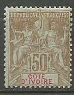 COTE D'IVOIRE N° 17 NEUF*  TRACE DE CHARNIERE  / MH - Neufs