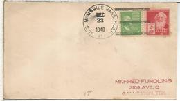 ESTADOS UNIDOS USA CC CON MAT U S NAVY MOBILE BASE HOSPITAL 1940 MEDICINA SELLO MORSE - Enfermedades