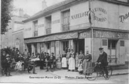 CAFÉ TABAC Très Animé - Maison Floriat - GOURNAY Sur MARNE - France