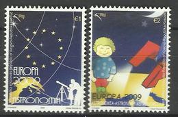KOSOVO 2009 EUROPA,ASTRONOMY SET  MNH - Kosovo