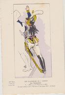 """Uniformes Du1er Empire  Officier Du 10 Eme Régiment ( Taleau """" La Distribution Des Anges """" De David - Uniformen"""