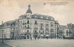 CPA - Belgique - Brussels - Bruxelles - Schaerbeek - L'Avenue Huart-Hamoir - Schaarbeek - Schaerbeek