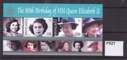 Vanuatu 2006 80th Birthday Of Queen Elizabeth II. (MNH) - Vanuatu (1980-...)