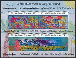 Wallis, BF N° 19** Y Et T, Bloc Feuillet, Contes Et Légendes - Blocs-feuillets