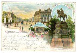 "Privatpost-Karte ""Gruss Aus Berlin"" - Poste Privée"