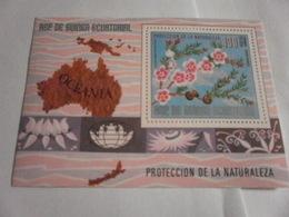 Miniature Sheet Perf Oceania Nature Protection - Equatorial Guinea