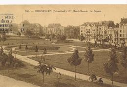 CPA - Belgique - Brussels - Bruxelles - Schaerbeek - Boulevard Huart-Hamoir  - Le Square - Schaarbeek - Schaerbeek