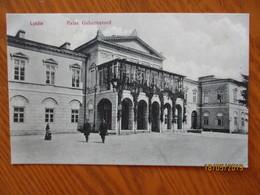 IMP. RUSSIA POLAND  LUBLIN  PALACE OF GOVERNOR , OLD POSTCARD   , O - Polonia