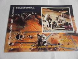 Miniature Sheet Imperf Apollo 15 Space Exploration - Equatorial Guinea