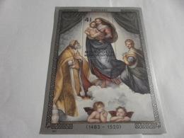 Miniature Sheet Perf 1983 Raphael 1520 - Mongolia