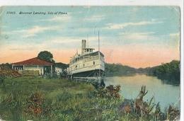 Superbe Cpa Couleur  De   Steamer  Landing ,  Isle Of Pines .   -     CUBA   -  ( Coins Abimés, Vendu En L'état ) - Cartes Postales