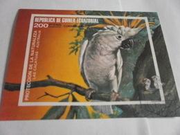 Miniature Sheet Imperf Nature Protection - Equatorial Guinea