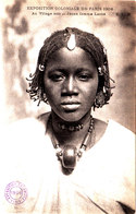 Exposition Coloniale De PARIS 1906 Jeune Femme LAOBE Belle Cpa Bon état Voir Scans - Afrique