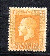 APR1077 - NEW NUOVA ZELANDA 1915 ,   Yvert  N. 153  Nuovo  * (2380A) - 1907-1947 Dominion