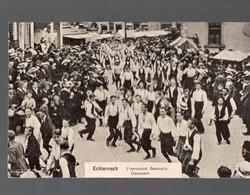Echternach (Luxembourg) Procession Dansante : Danseurs (PPP18306) - Echternach