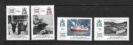 GEORGIE DU SUD 1988 ASSURANCE LA LLOYD  YVERT N°188/91  NEUF MNH** - Georgias Del Sur (Islas)