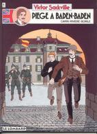 Victor Sackville T 11  Piège A Baden-Baden   EO BE  LOMBARD  04/1996 Rivière Carin (BI1) - Victor Sackville