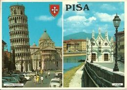 Pisa (Toscana) Vedute: La Torre Pendente E La Spina - Pisa