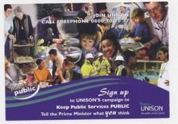 AI36 UNISON Campaign To Keep Public Services Public - Labor Unions