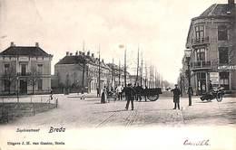 Breda - Sophiastraat (Uitg. J H Van Gaalen, Animatie 1906) - Breda