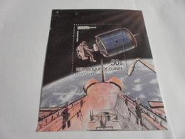 Miniature Sheet Perf Space Exploration 1984 - Guinea (1958-...)